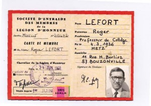 carte légion d'honneur verso