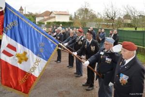 Photo de la cérémonie à Montauban en la date du 25 novembre 2015