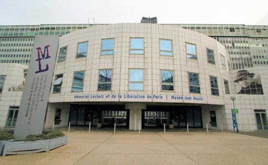 facade fu mémorial leclerc/jean Moulin