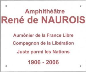 Plaque de NAUROIS 1